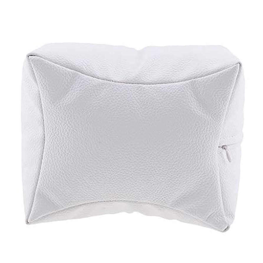 代表努力舌なSharplace ネイルアート 手枕 ハンドピロー レストピロー ハンドクッション ネイルサロン 4色選べ - 白