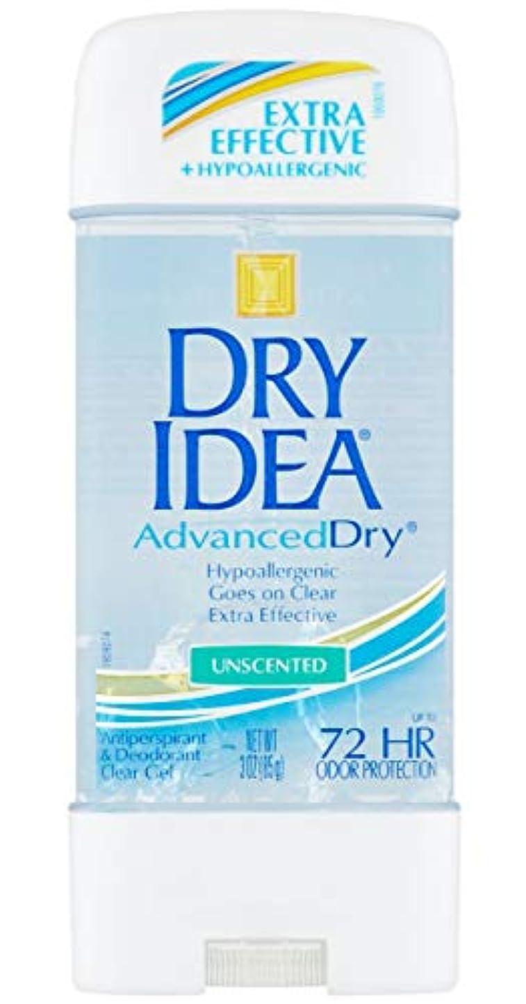 デッドロック祖先散るドライアイデア Dry Idea アドバンスドドライ メンズ レディース デオドラント クリアジェル 制汗剤 ボディケア 無香料 85g