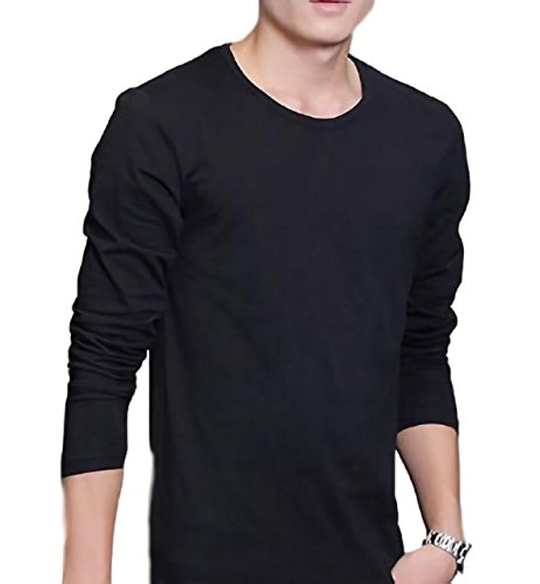 アニメーション検出直接[プライマリーデザイン] ティーシャツ カットソー 長袖 メンズ