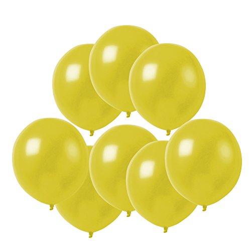 10インチ黄色い風船 ラテックス風船 バルーン パーティー お誕生日会 結婚式 飾り付け