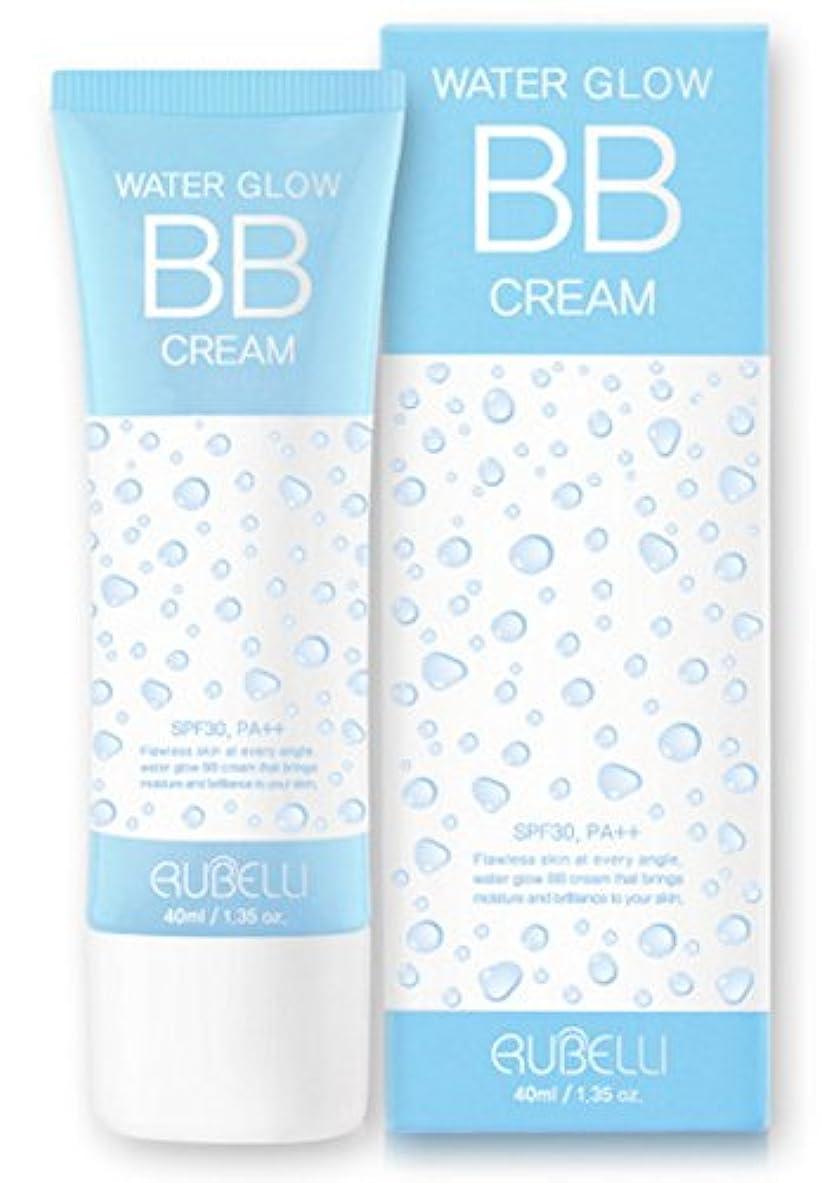 物理的に系譜ヘッドレス[ルーバレー] Rubelli 水グローBBクリーム Water Glow BB Cream 40ml SPF30 PA++ [並行輸入品]
