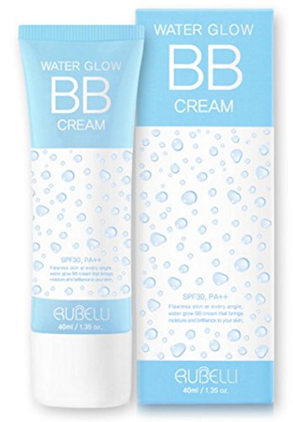 黒板珍しいシャーク[ルーバレー] Rubelli 水グローBBクリーム Water Glow BB Cream 40ml SPF30 PA++ [並行輸入品]