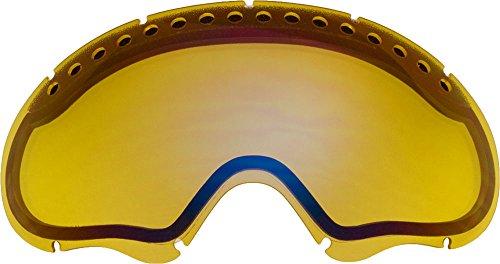 オークリー A FRAME1.0 ゴーグル用交換レンズ LIGHT YELLOW MIRROR
