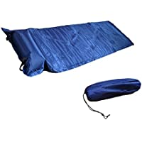 JOACAMP自動エアインフレータブルマットレススリーピングパッドキャンプは、 1台の室外ブルーベッド JOACAMP Automatic Air Inflatable Mattress Sleeping Pad Camping Bed Single Outdoor Blue 【並行輸入品】