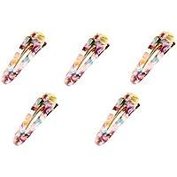 TOOGOO 5 Piece Women Vintage Acrylic Geometric Waterdrop Hair Pin Hair Clip Hairband Hair Styling Accessories For Girls