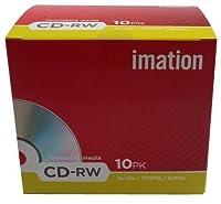 Imation CDRW 4-12X 10-pack Retail showbox MTV [並行輸入品]