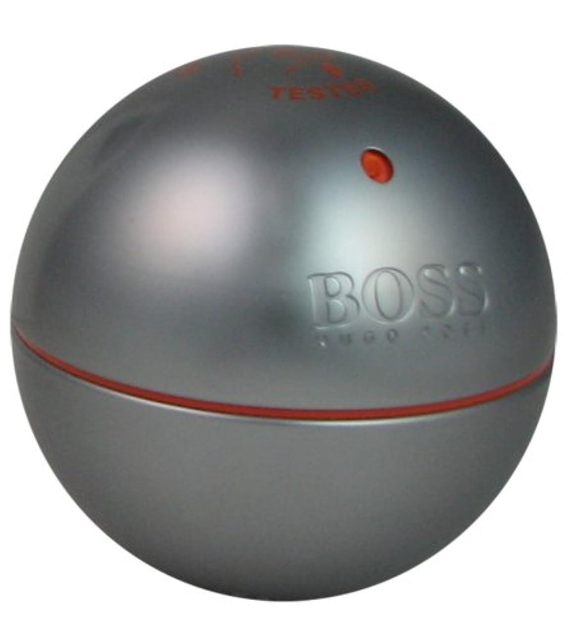 計算可能前述の典型的なヒューゴ ボス HUGO BOSS ボス インモーション 90ml EDT テスター fs