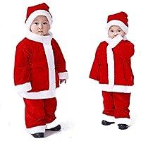 96375c4070cba クリスマス衣装 ベビー ロンパース カバーオール 着ぐるみ 赤ちゃん 女の子 男の子 ベビー服 サンタ ...