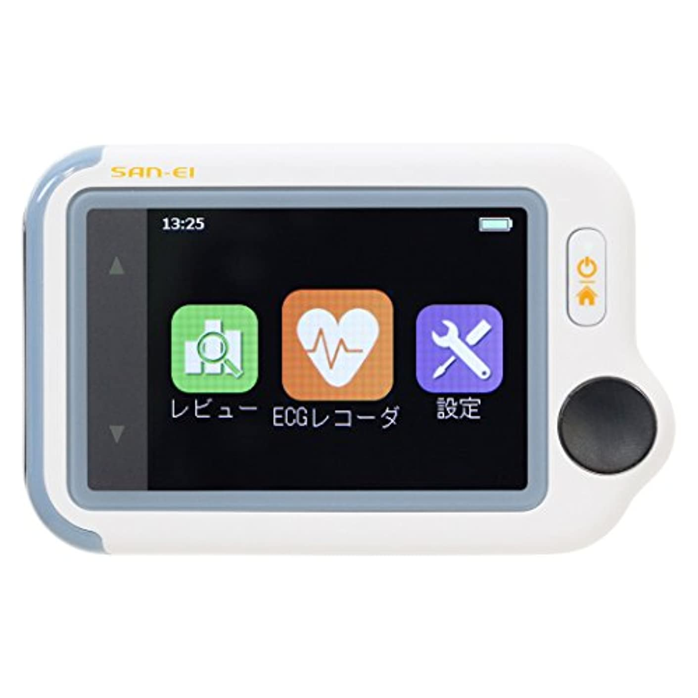 に暗いリングレットチェックミーECG アドバンスモデル 《ブルートゥース搭載》 携帯型心電計