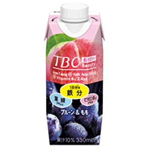 TBC 鉄分+葉酸+ビタミンB12 プルーン&もも 紙パック 330ml ...