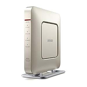 BUFFALO 無線LAN親機 11ac/n/a/g/b 1733+800Mbps Giga ゴールド【Nintendo Switch動作確認済】 WSR-2533DHP-CG