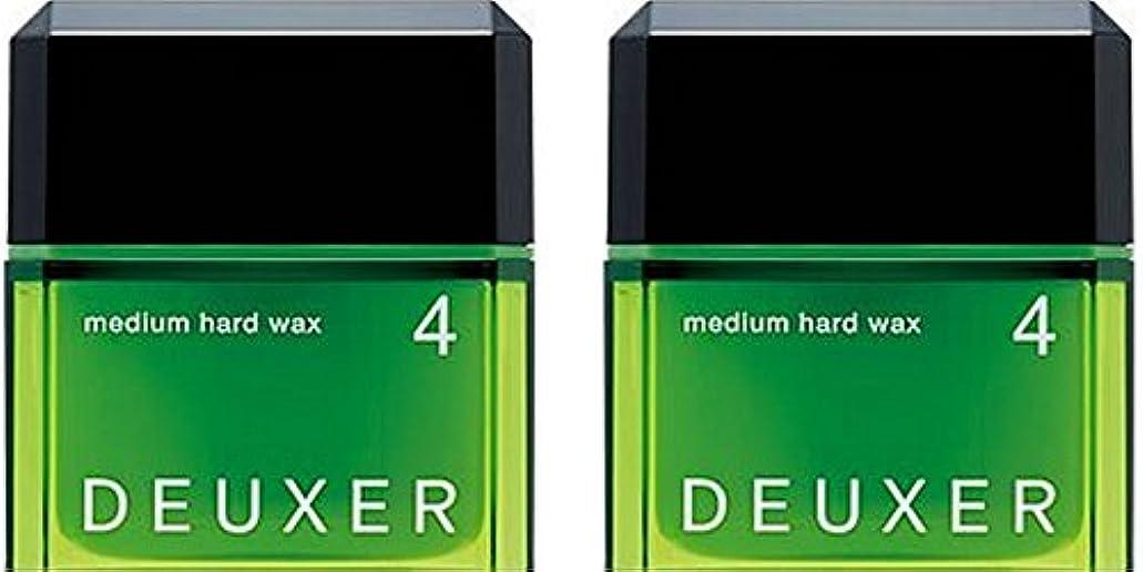 お風呂を持っている支配的副産物003 デューサー ミディアムハードワックス 4 80g 【2セット】