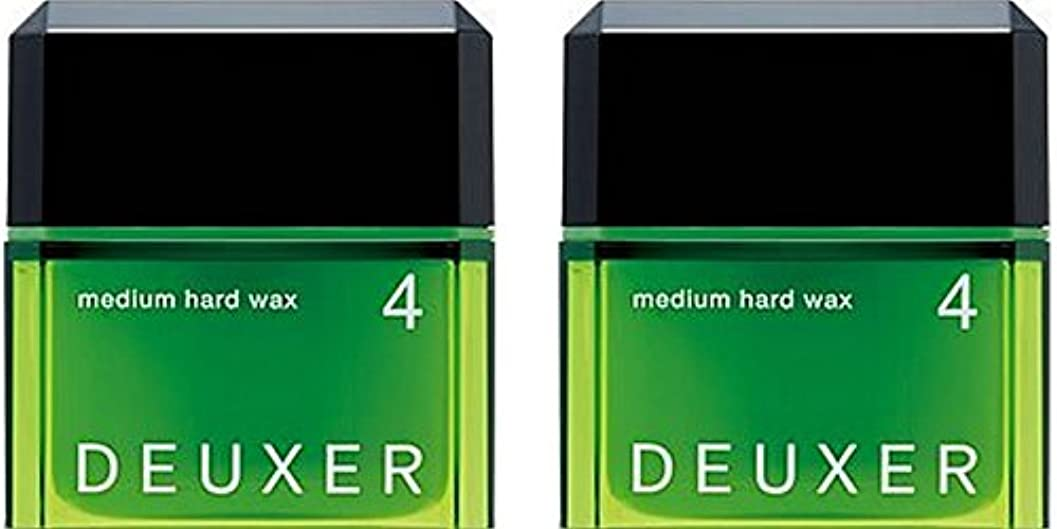 接辞星メディア【X2個セット】 ナンバースリーデューサー ミディアムハードワックス4 80g (スタイリングWAX)
