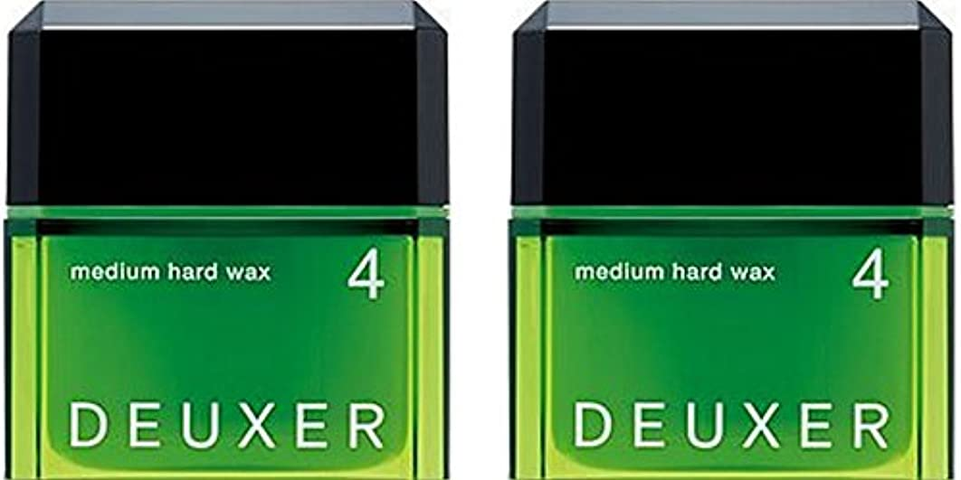 単調なトン黒【X2個セット】 ナンバースリーデューサー ミディアムハードワックス4 80g (スタイリングWAX)