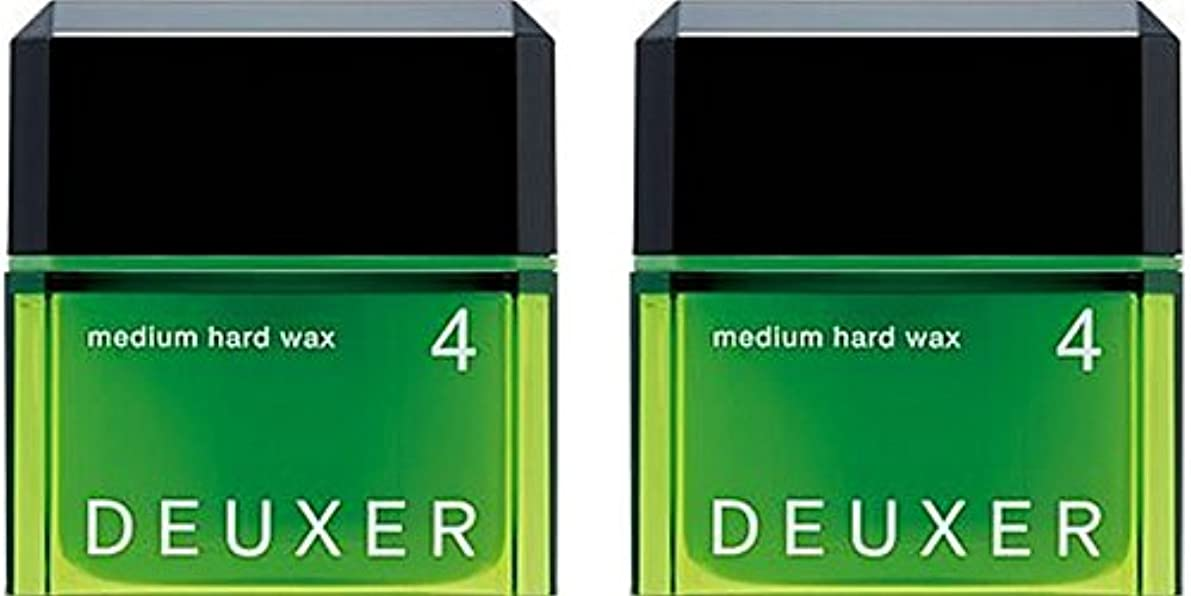 ドリンク疲れた比率【X2個セット】 ナンバースリーデューサー ミディアムハードワックス4 80g (スタイリングWAX)