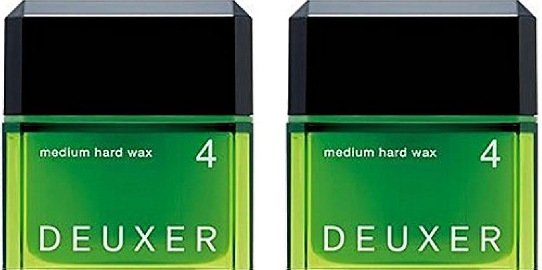 クレデンシャル思われるどれか【X2個セット】 ナンバースリーデューサー ミディアムハードワックス4 80g(スタイリングWAX)