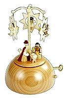 エルツ 木工芸 オルゴール 星とご生誕 Richard Glaesser Seiffen