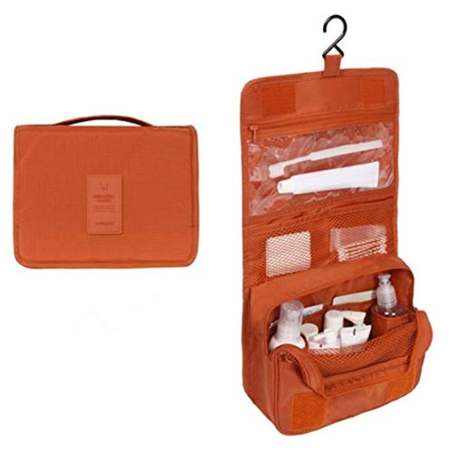 宿題をする慣れる環境に優しいYoshilimen 防水ベジタリアンメイクアップトートバッグ化粧品バッグ(None Picture Color)