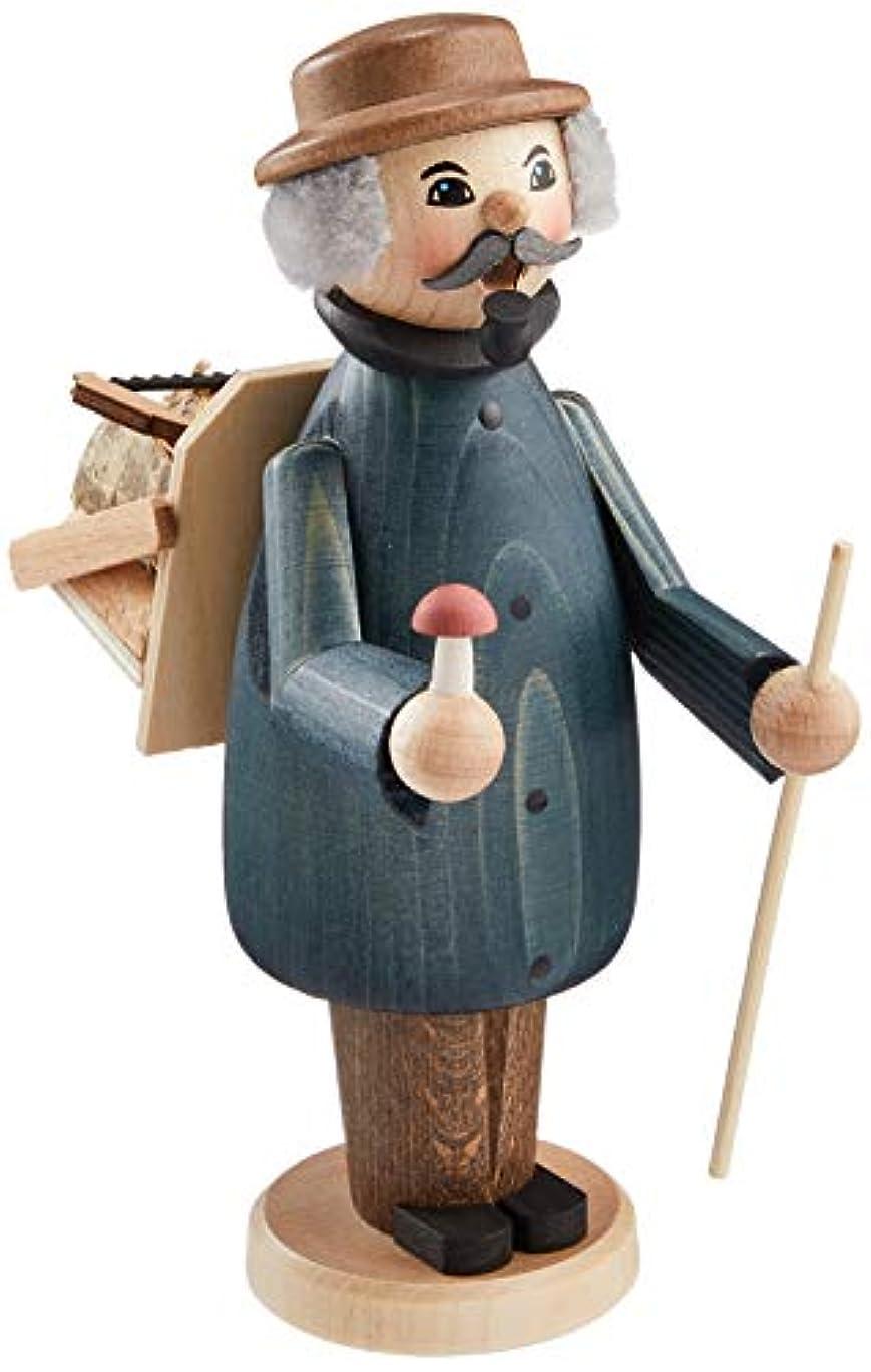 ばかげたみすぼらしいパズルkuhnert ミニパイプ人形香炉 薪拾い