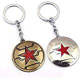 キャプテン?アメリカ キーホルダー Captain America Keychain グッズ アクセサリー 贈り物