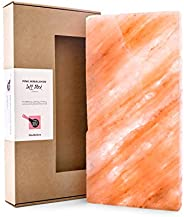 Natural Himalayan Salt Block for BBQ Cooking Grilling Serving Entertaining. Large Rectangle 20cm x 40cm x 5cm 9kg