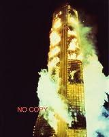 大きな写真、「タワーリング・インフェルノ」燃え盛る高層ビル