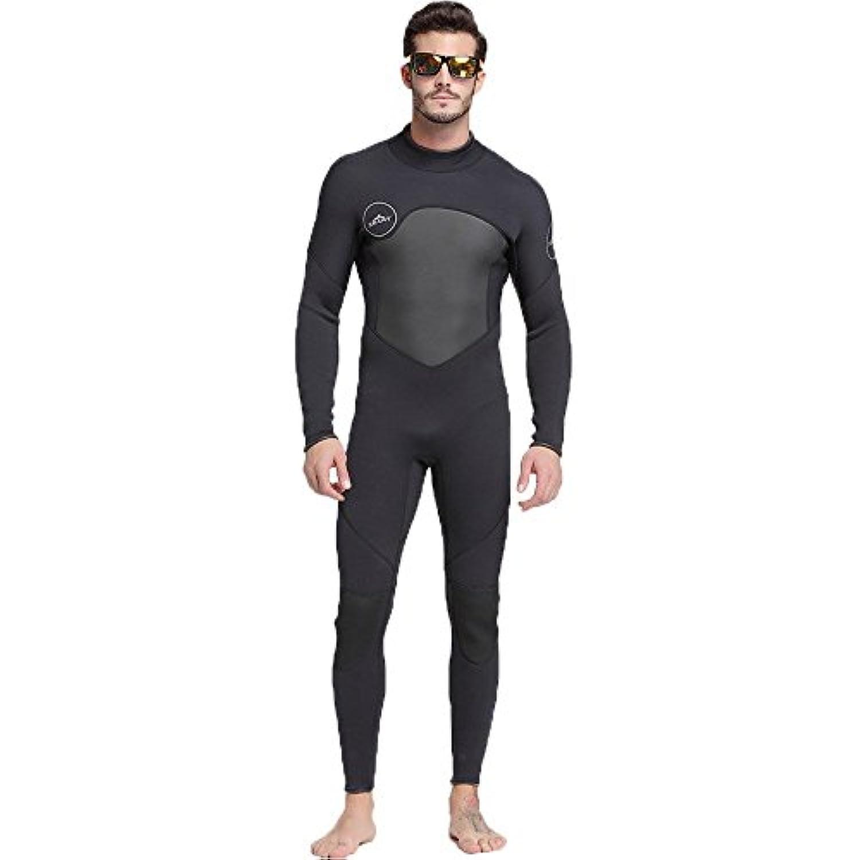 ウェットスーツ メンズ 3mm フルスーツ ロングスリーブ ダイビング サーフィン