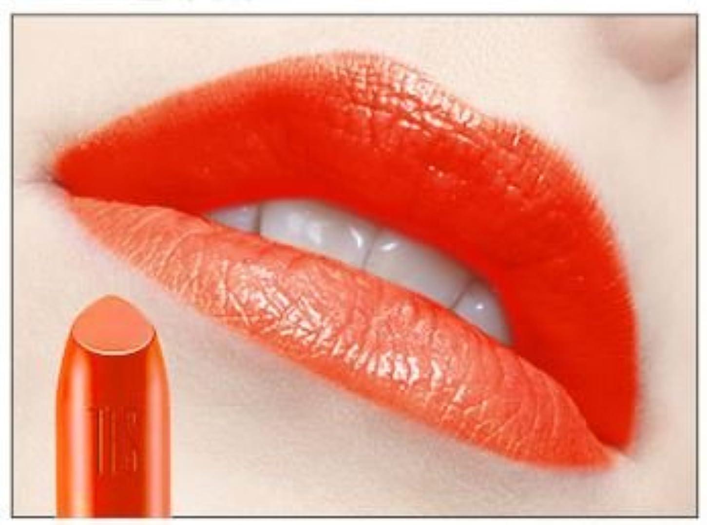 戸惑う蓋多数の[New] THE FACE SHOP Moisture Touch Lipstick 3.4g/ザフェイスショップ モイスチャー タッチ リップスティック 3.4g (#OR01 Orange Shower)