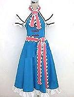 KUTAO 東方Project 東方プロジェクト とうほうプロジェクト アリス・マーガトロイド Alice Margatroid コスプレ衣装 cosplay コスチューム コス 仮装 変装 (男性XL)