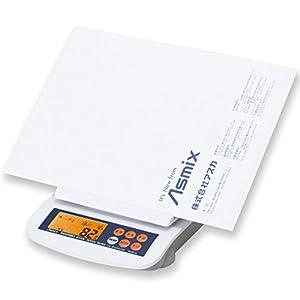 アスカ デジタルスケール 20170601新郵便料金対応 DS3010 最大計量3kg ホワイト