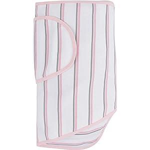 Miracle Blanket 魔法のおくるみ ミラクル ブランケット【正規代理店1年間保証付】 Pink & Grey Stripes ピンク×グレーストライプ