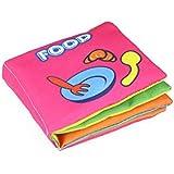 Soft Cloth Books Rustle Sound Infant Early Learning Educational Stroller Rattle Toy Kakiyi