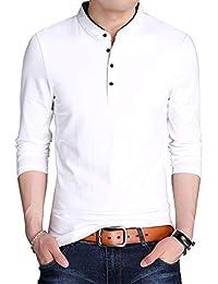 長袖 ポロシャツ ティーシャツ メンズ 上質仕様 トップ 綿100% コットン 吸汗速乾 ゴルフウェア ストレッチ ビジネス カジュアル ファッション スポーツ 春の 秋の 冬の