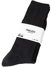 (ピムリコ) PIMLICO 大きいサイズ メンズ 12足セット ワンカラー ビジネス ハイソックス