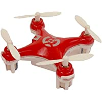AWW Industries Gnat 4 CH 2.7GHz Radio Control Infrared Mini RC Quadcopter - Red [並行輸入品]