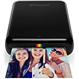 Polaroid POLMP01B Zip Mobile Printer w/Zink Zero Ink Printing Technology – Compatible w/iOS & Android Devices - Black