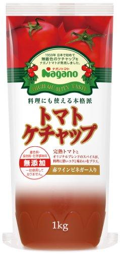 ナガノトマト トマトケチャップ特級 1kg 業務用ボトルタイプ