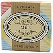Naturally European Milk Cotton Soap, 150 g