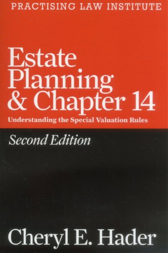 Download Estate Planning & Chapter 14 (Pli Press's Tax Law & Estate Planning Library) 1402416873