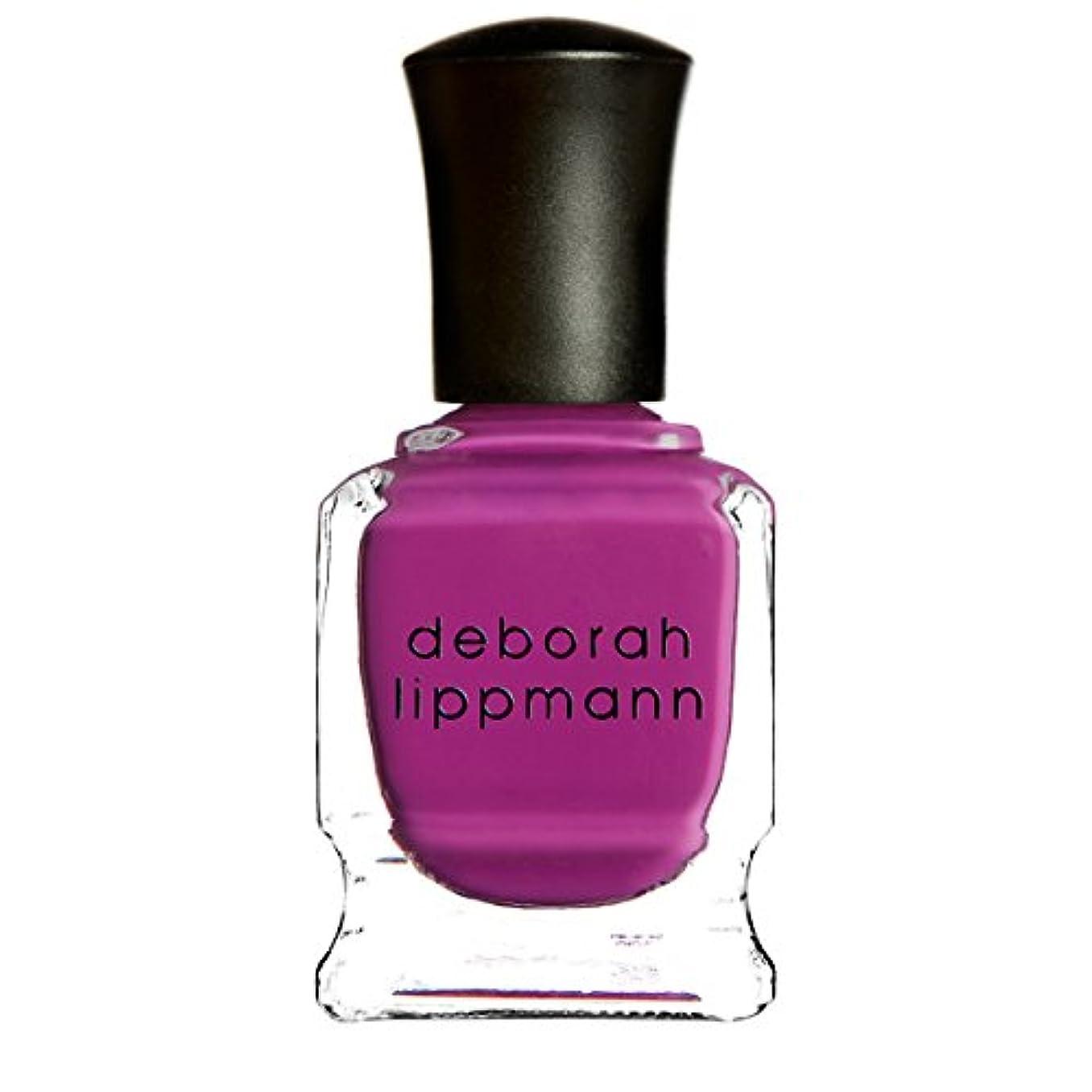 下に向けます飽和する乱れ[Deborah Lippmann] デボラリップマン ポリッシュ ピンク系 15mL (ビトゥイーン ザ シーツ)