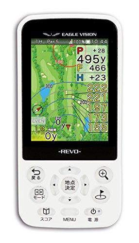 朝日ゴルフ(ASAHI GOLF) ゴルフナビGPS EAGLE VISION イーグルビジョン REVO EV-522 ホワイト