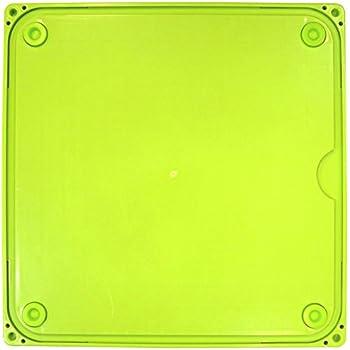 タイガークラウン めん台 シルバー 緑 393×393×17mm ストレッチスタンドのし台付 スチール フッ素加工 ゴム足付 3863