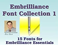 Embrilliance Font Collection #1 - For Embrilliance Essentials [並行輸入品]