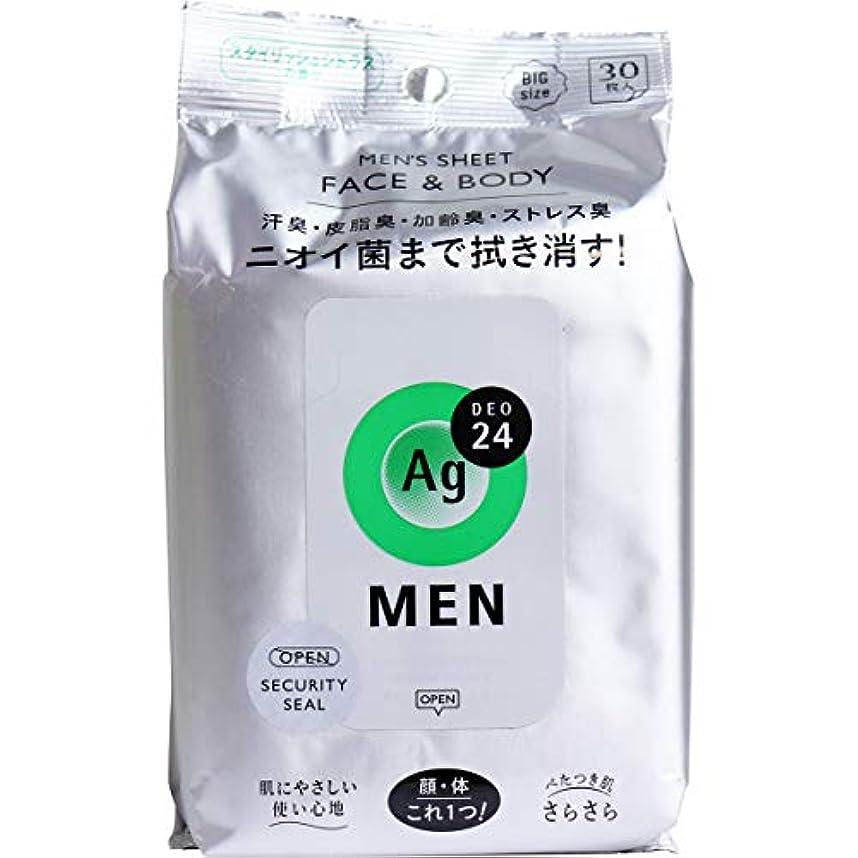 形式火山ブロックエージー24メン メンズシート フェイス&ボディ(シトラス)30枚 (4)