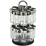 Generic Older Gl Kitchen Spices Older G Rack Set Spices Ho 17Piece Spice Jars Rack S Holder Glass Containers th Storage R with Storage