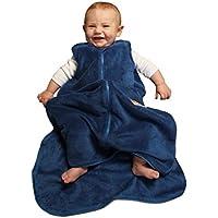 Gunamuna Fleece Gunapod Wearable Baby Sleepsack, Blueberry, Large by Gunamuna