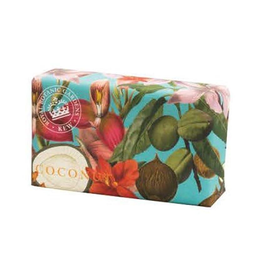 切り離す騒々しい暖かさEnglish Soap Company イングリッシュソープカンパニー KEW GARDEN キュー?ガーデン Luxury Shea Soaps シアソープ Coconut ココナッツ
