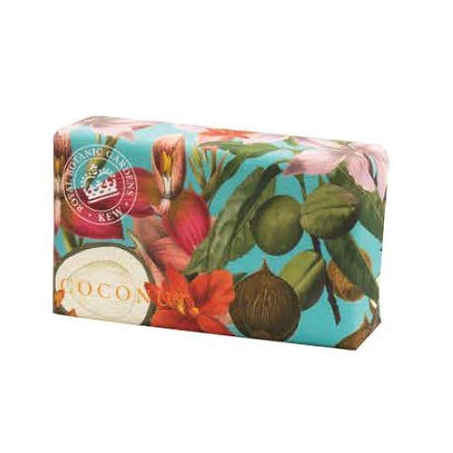 横向き輪郭エコー三和トレーディング English Soap Company イングリッシュソープカンパニー KEW GARDEN キュー・ガーデン Luxury Shea Soaps シアソープ Coconut ココナッツ