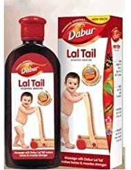 Baby / Child Natural Strengthening Herbal Ayurvedic Baby Massage Oil Dabur Lal Tail 100ml Large Size Infant by...