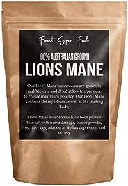Australian Dried Lions Mane Medicinal Mushroom (Includes mycelium) - 30 day supply